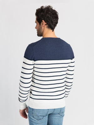 ons garage men's sweater NAVY