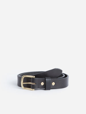 black Tanner Goods Belt