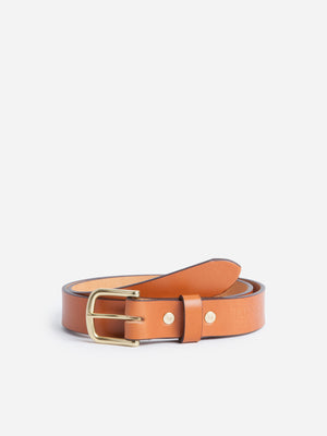 saddle-tan Tanner Goods Belt
