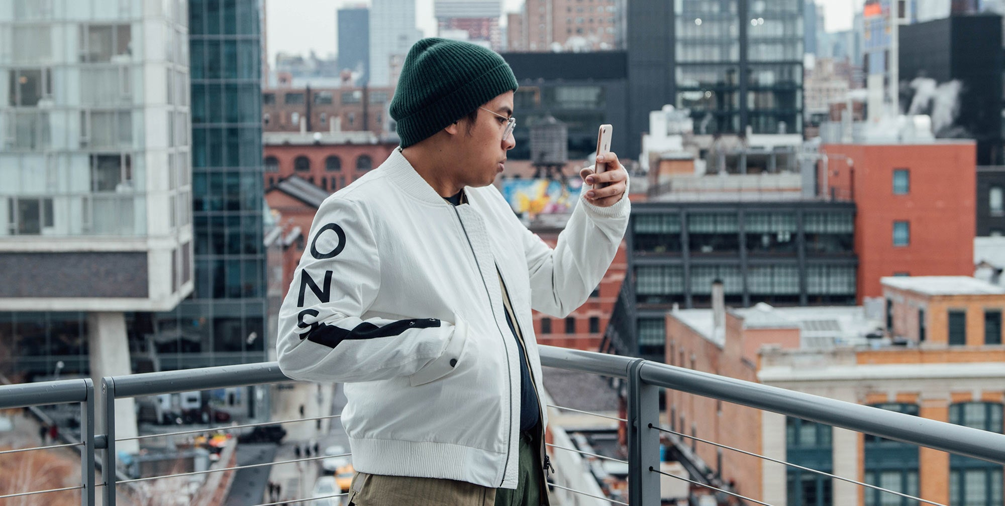 Highsnobiety Editorial Director Jian DeLeon for A Day in The Life Series - ONS Clothing Urban Transplants