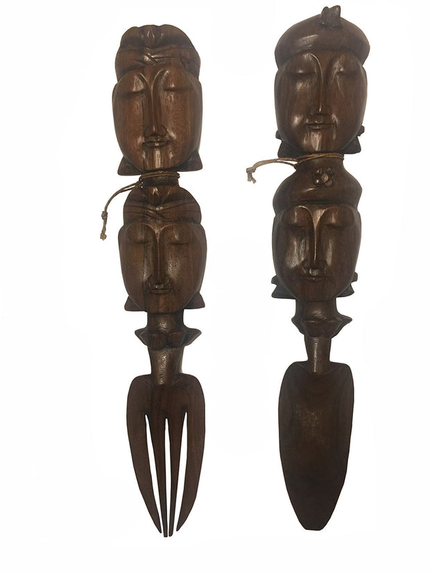 Indonesian Salad Servers