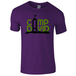 Kids Short Sleeve Casual Camp David Tee