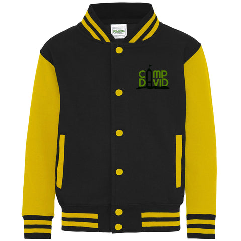 Kids Long Sleeve Varsity Jacket in Various Colours