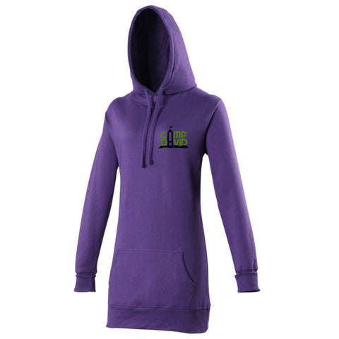 Ladies Casual Longline Winter Hoodie Jumper By Camp David