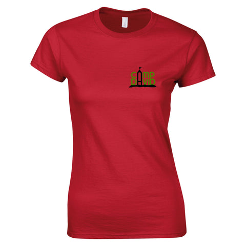 Women's Short Sleeve Casual Camp David Tee
