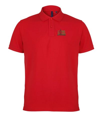 Men's Classic Casual Camp David Polo Shirt