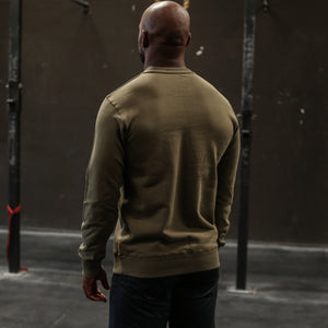 Core Crewneck Sweater - Olive