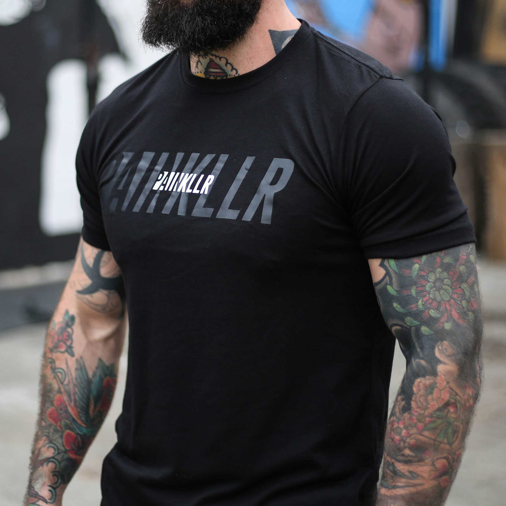 PAINKLLR PAINKILLER Men's tract tee black
