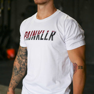 PAINKLLR PAINKILLER Unbroken ultra fine cotton jersey tee white