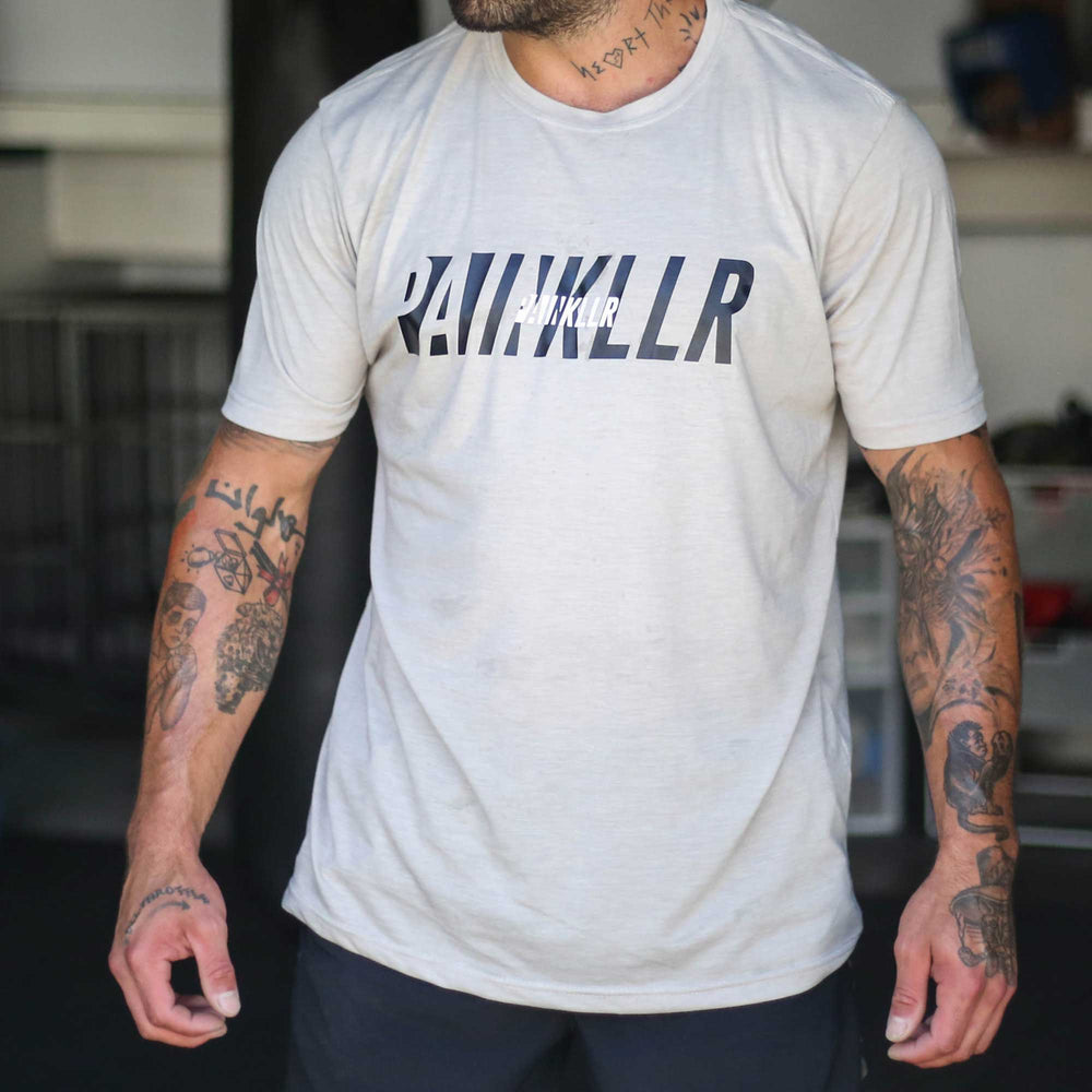 PAINKLLR PAINKILLER Men's tract tee sand