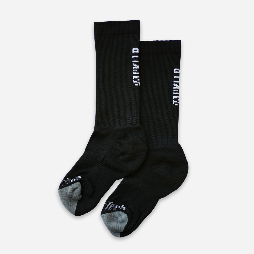 PAINKLLR PAINKILLER unisex crew length socks black