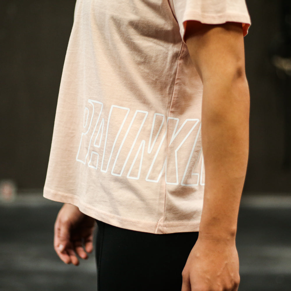 PAINKLLR Wrap Cube Tee - Blush
