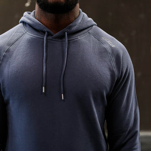 PAINKLLR BASE Pullover Hoody Storm Blue - Front details