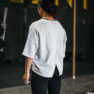Ease Crossback Sweater - Cloud