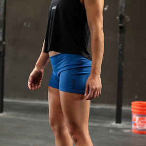 Essential Shorts - Cobalt