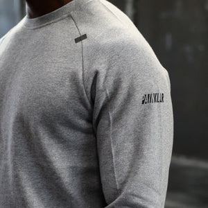 TAC Raglan Sweater - Gray