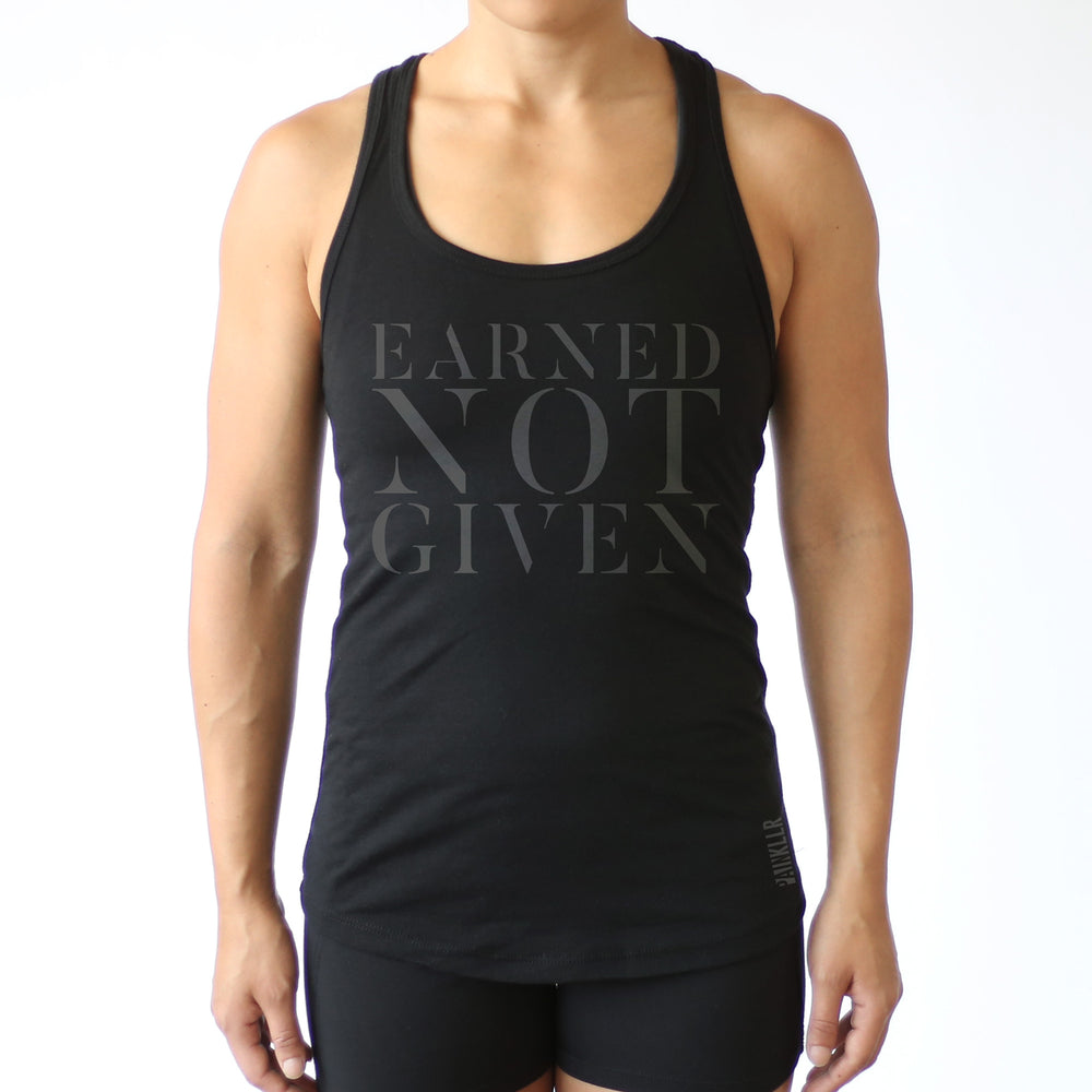 PAINKLLR PAINKILLER Women's earned not given fitted tank