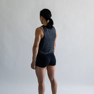 Load image into Gallery viewer, Pace Muscle Tank - Charcoal