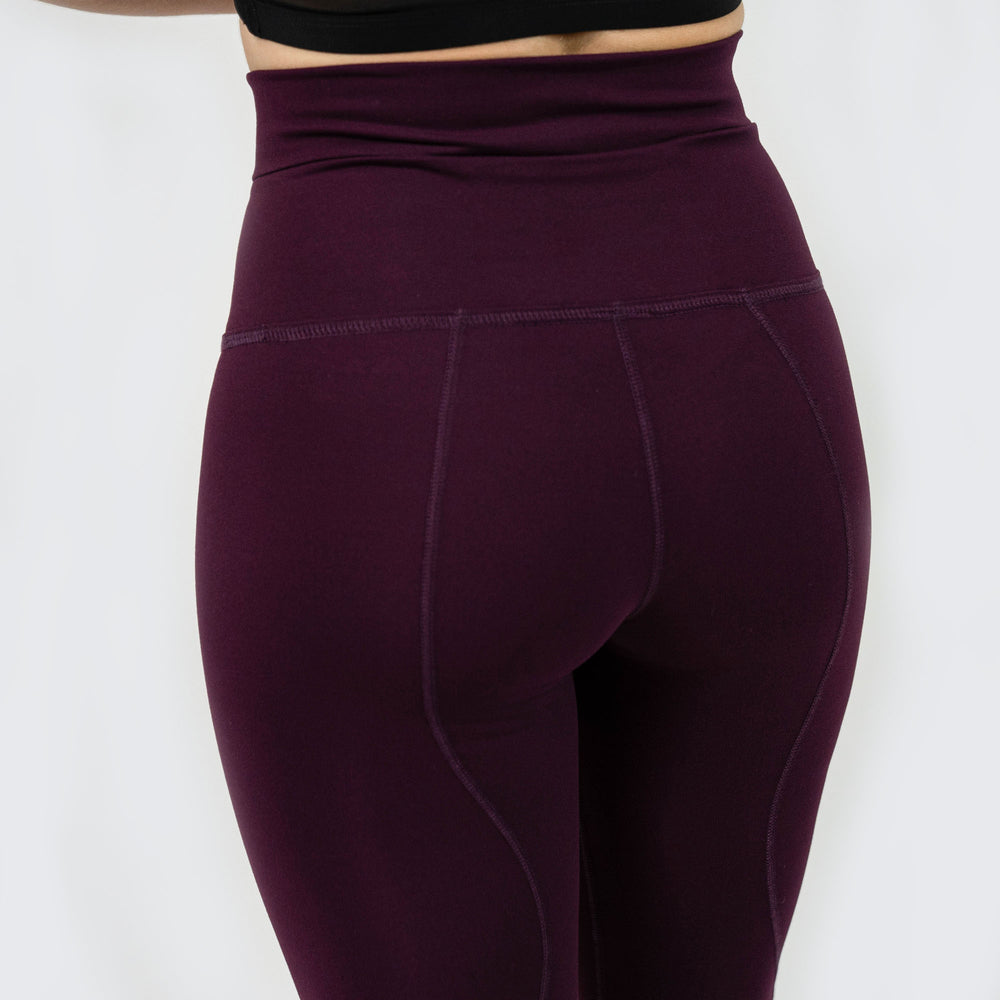Load image into Gallery viewer, Drift High Waisted Leggings - Plum