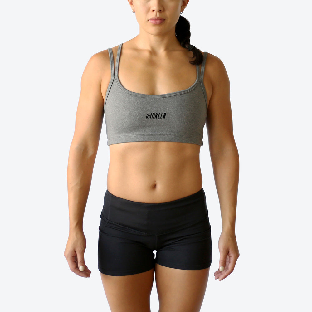 PAINKLLR PAINKILLER Women's motion sports bra charcoal