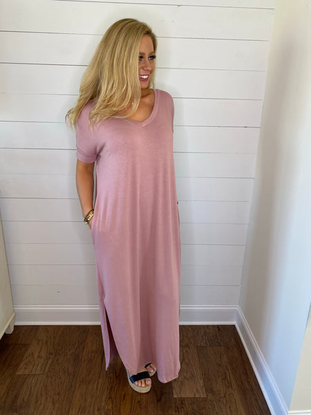 comfy + casual maxi dress {s-xl}