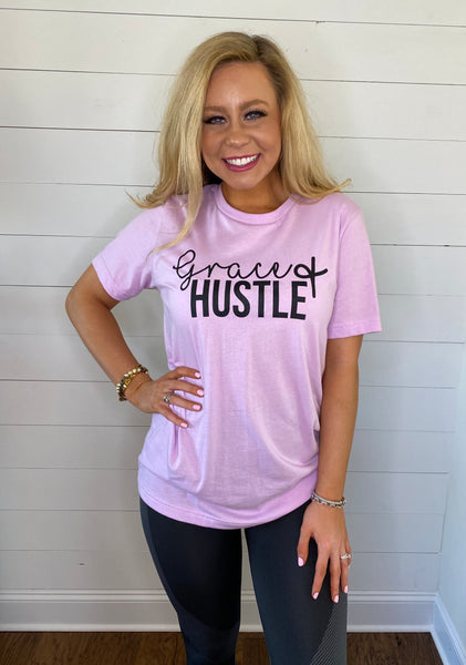 grace & hustle tee