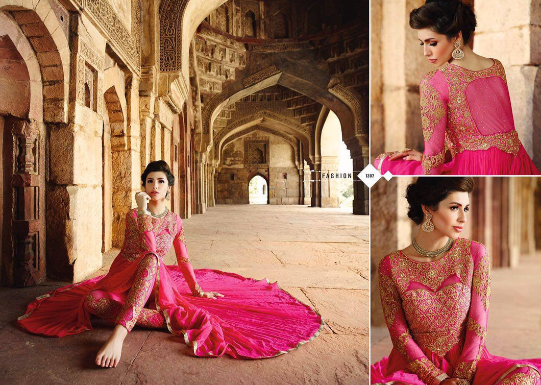 Indian Pakistani Designer Salwar Kameez Original Glossy 12007