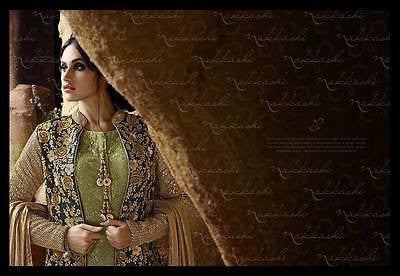 Indian Pakistani Designer Salwar Kameez Suit Dress Orginal Nakkashi 3027