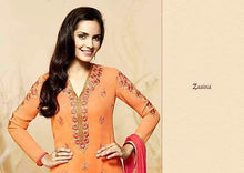 Load image into Gallery viewer, Indian Pakistani Designer Salwar Kameez Original Khwaab Zaaina 1104
