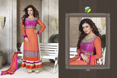 Indian Pakistani Designer Salwar Kameez Suit Party Dress Vinay Fashion LLP 1326