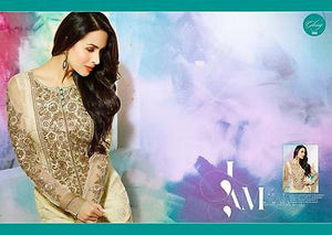 Indian Pakistani Designer Salwar Kameez Original Glossy 3808