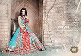 Indian Pakistani Designer Salwar Kameez Original Zoya 11004