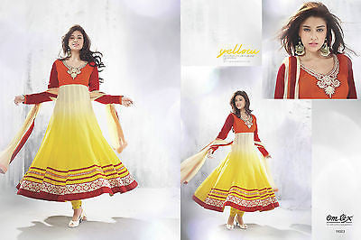 Indian Pakistani Designer Salwar Kameez Suit Party Dress Orginal Omtex 16003
