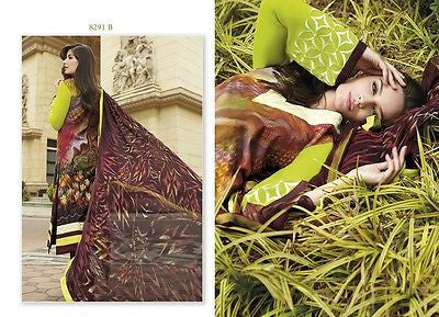Indian Pakistani Designer Anarkali Salwar Kameez Original Jinaam 8291B