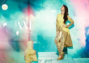 Indian Pakistani Designer Salwar Kameez Original Glossy 3805
