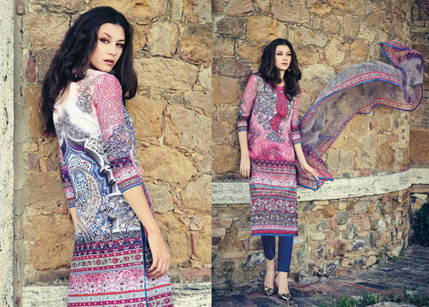 Indian Pakistani Designer Anarkali Salwar Kameez Original  Jinaam Miracles 8420