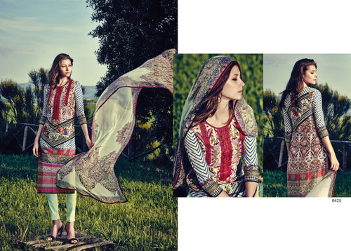 Indian Pakistani Designer Anarkali Salwar Kameez Original  Jinaam Miracles 8425