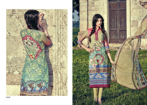 Indian Pakistani Designer Anarkali Salwar Kameez Original  Jinaam Miracles 8428