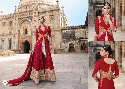 Indian Pakistani Designer Salwar Kameez Original Glossy 12001