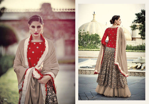 Indian Pakistani Designer Salwar Kameez Original Floral Creations 7322