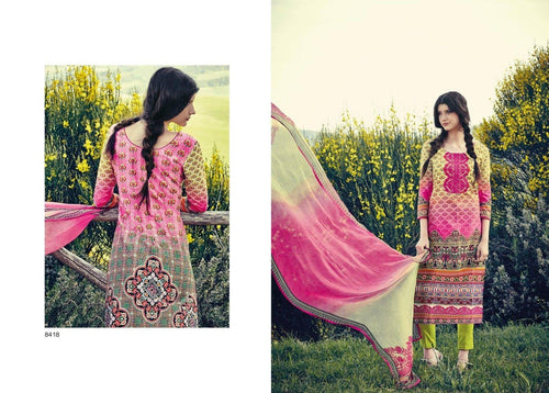 Indian Pakistani Designer Anarkali Salwar Kameez Original Jinaam Miracles 8418