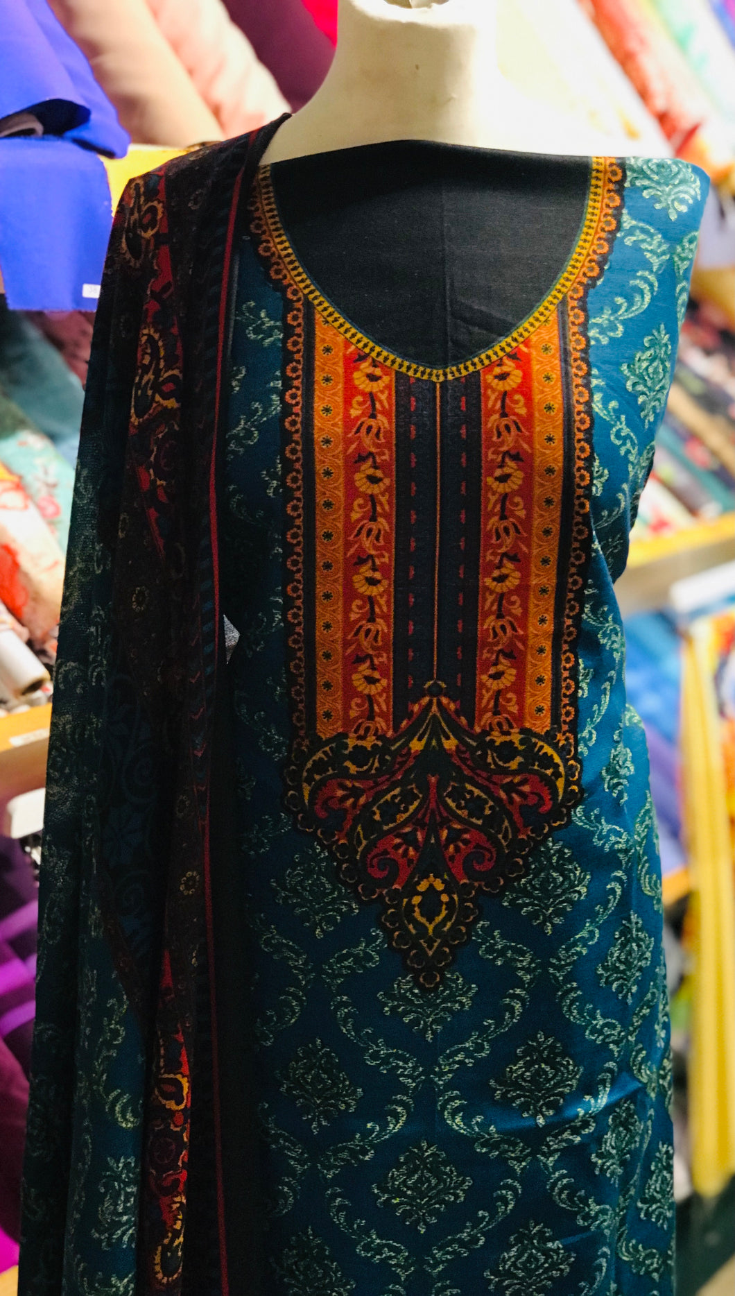 Winter Khaadar suit  SP249-5 Midtex