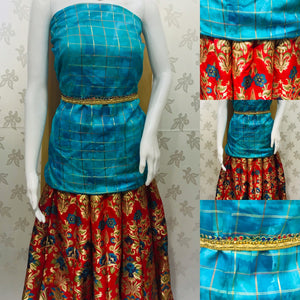CanCan bridal  lengha skirt  suit SP202-3 midtex