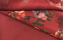 Load image into Gallery viewer, Winter Vaishali Floral Rose  fabric set with chiffon floral dupputa SP277-2 midtex