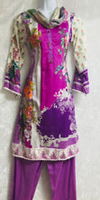 Load image into Gallery viewer, large size 3 piece lawn ready made suit with thread neck embroidery SP208-3 midtex
