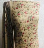 Beige 3 piece Rose design Winter suit with shawl  SP288-3 midtex