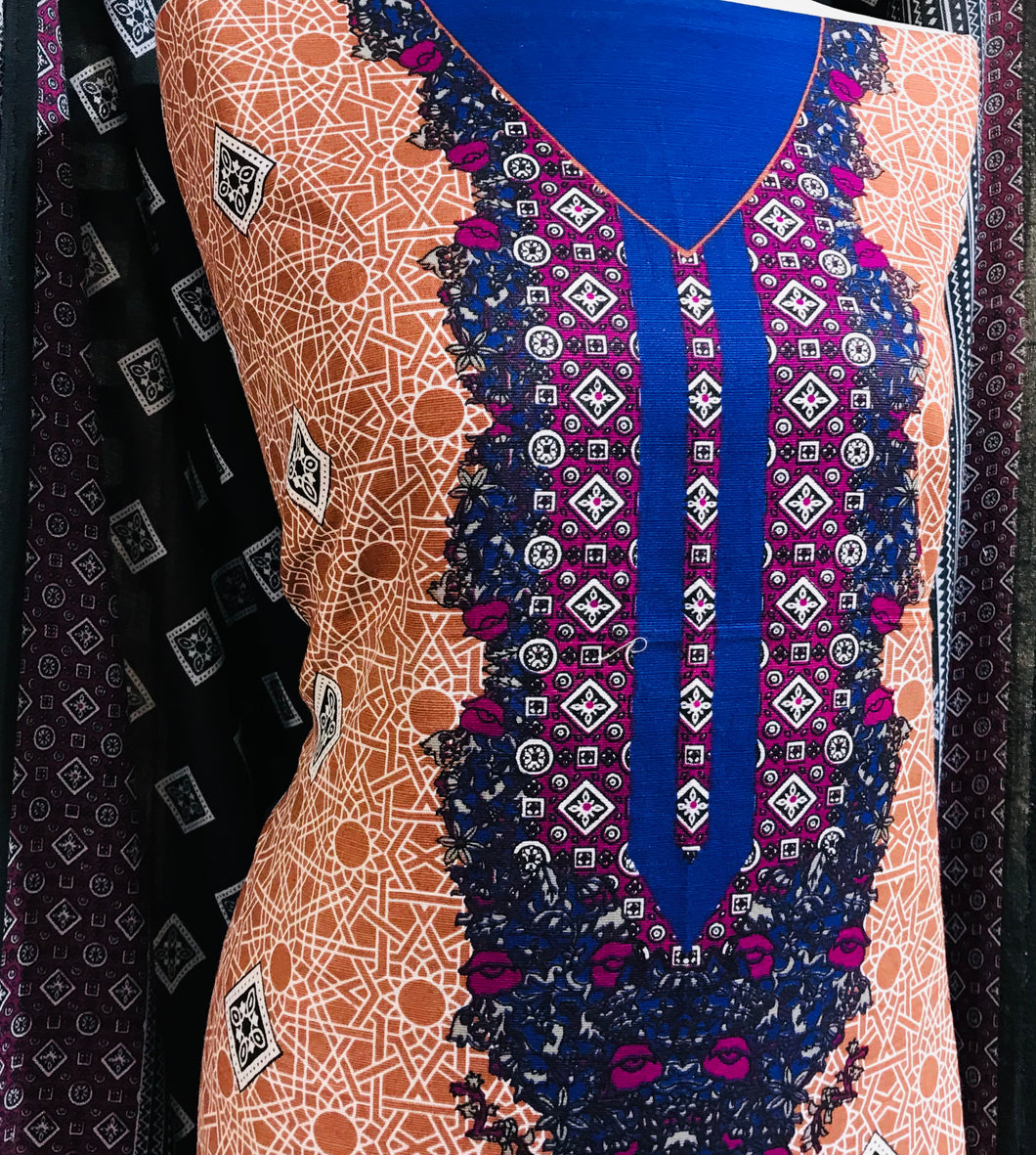 Winter Khaadar suit  SP249-9 Midtex