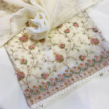 Load image into Gallery viewer, Chiffon with the thread embroidery SP270-2 midtex