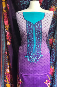 Winter Khaadar suit  SP248-1 Midtex