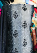 Load image into Gallery viewer, Warm Marina suit with embroidered shawl SP257-1 Midtex